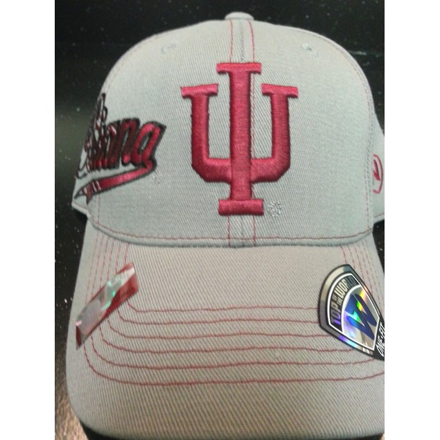 """Indiana Hoosiers NCAA TOW """"Sketched"""" Stretch Fitted Hat"""