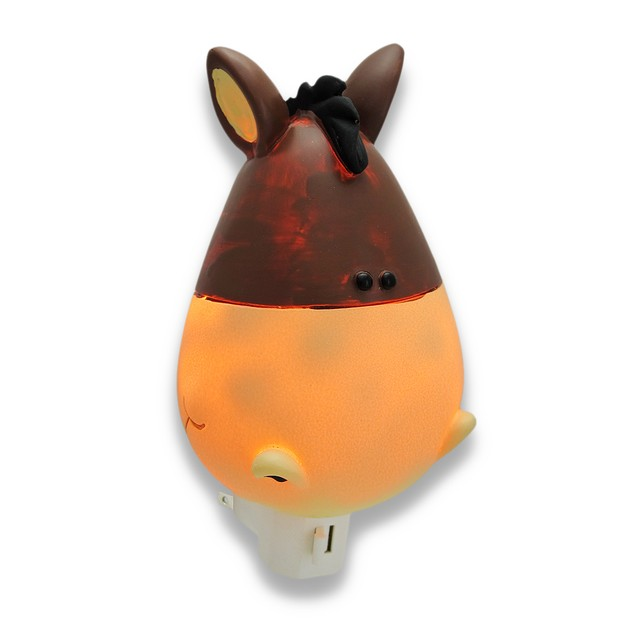 Children`S Whimsical Horse Night Light Nite Lite Childrens Night Lights