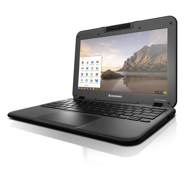"Lenovo 11.6"" N21 Chromebook (4GB RAM, Intel 2.16 GHz, 16GB SSD) - Grade B"