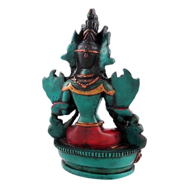 Buddhist Green Tara Resin Statue Mother Goddess Statues