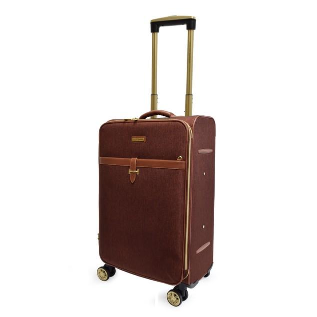 Adrienne Vittadini Two-Tone Nylon 3 pc Luggage Set