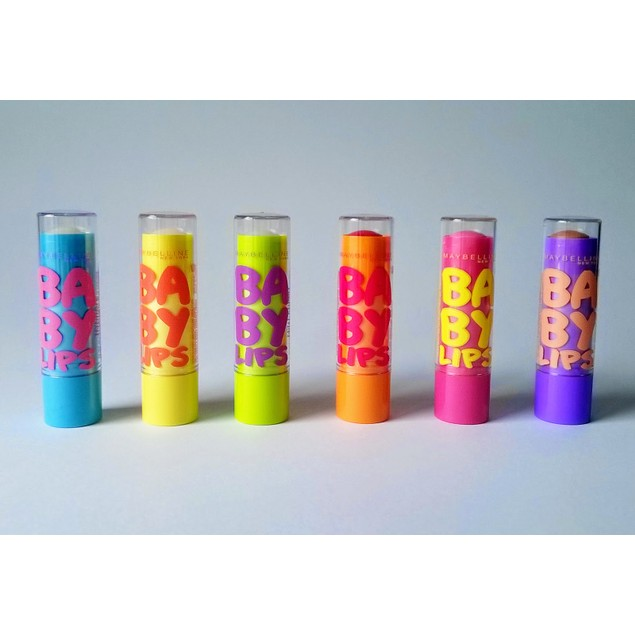 6-Pack Maybelline Baby Lips Moisturizing Lip Balm