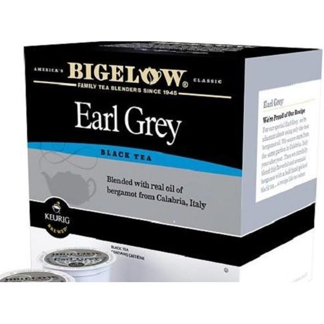 Bigelow Earl Grey Black Tea Keurig K-Cups 12 Cup Box