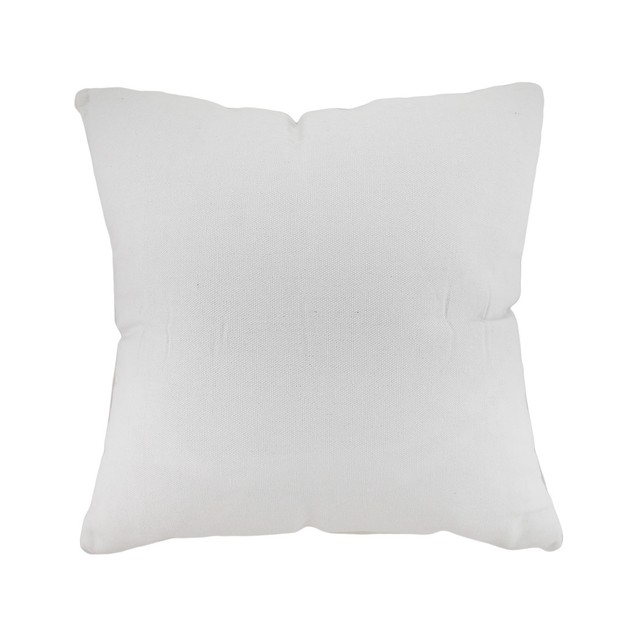 White And Blue Seahorse Decorative Canvas Throw Throw Pillows