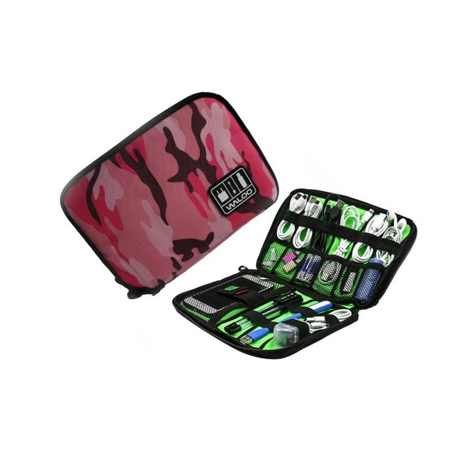 Waloo Universal Portable Electronics, Accessories, and Cable Organizer