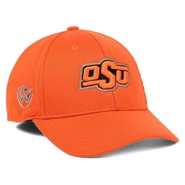 """Oklahoma State Cowboys NCAA TOW """"Booster"""" Memory Fitted Hat"""
