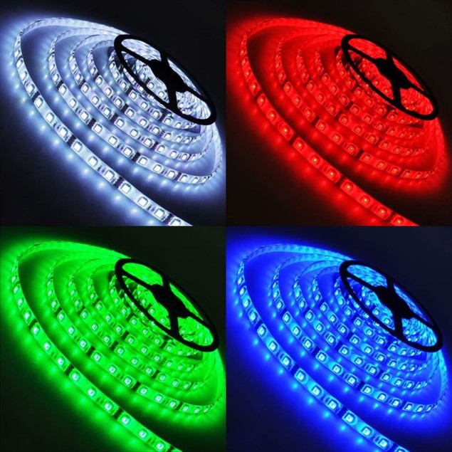 16-foot RGB Multi-Color LED Light Strip Starter Kit