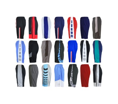 5-Pack Men's Assorted Active Moisture Wicking Shorts (Sizes, S-XL) Was: $149.50 Now: $29.99.