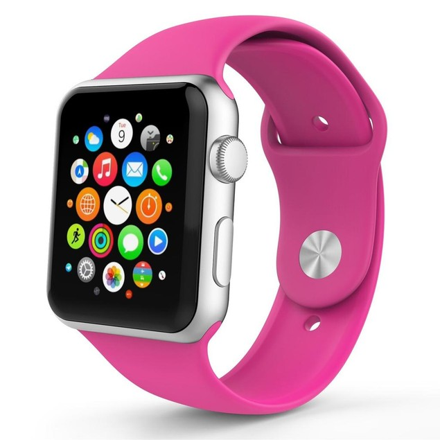 iPM Soft Silicone Replacement Sports Band For Apple Watch