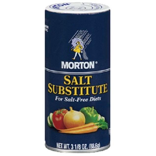 Morton Salt Substitute For Salt Free Diets 2 Bottle Pack