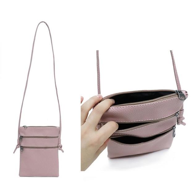 Functional Multipocket Crossbody Bag