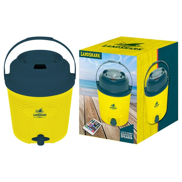 Margaritaville or Landshark Drink Dispensing Cooler with Speaker