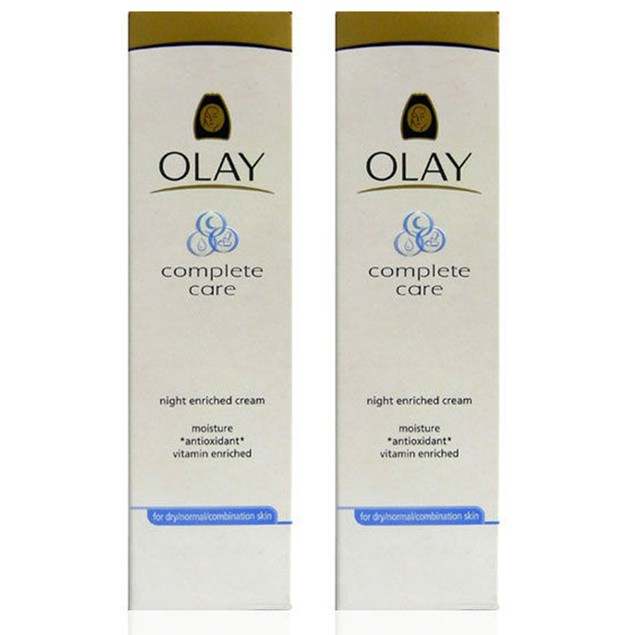 2-Pack Olay Complete Care Right Enriched Skin Cream, 1.7 Oz