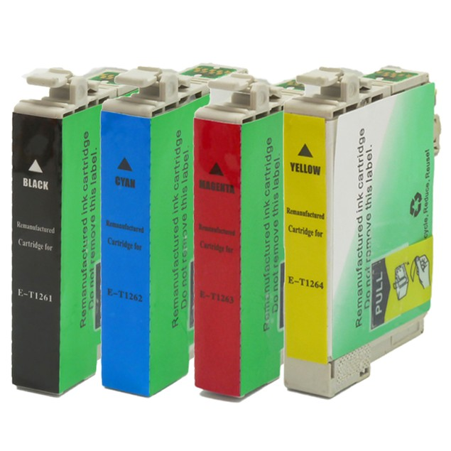 Epson T126 Compatible Ink for 4-Pack
