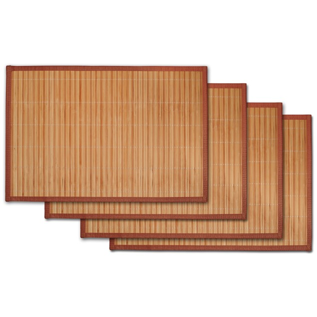 Bamboo Heat & Stain Resistant Placemats