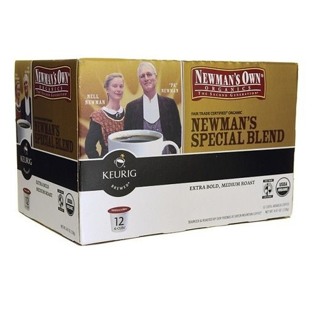 Newman's Own Newman's Special Blend Coffee Keurig K Cup