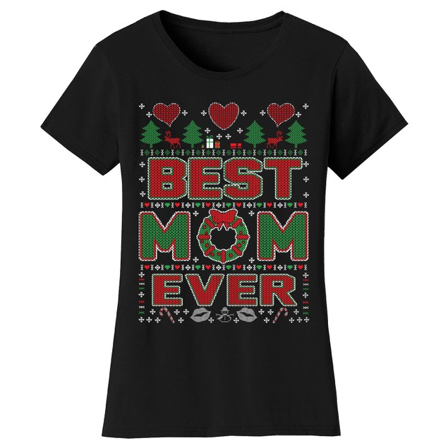 Women's Best Mom Christmas T-Shirts