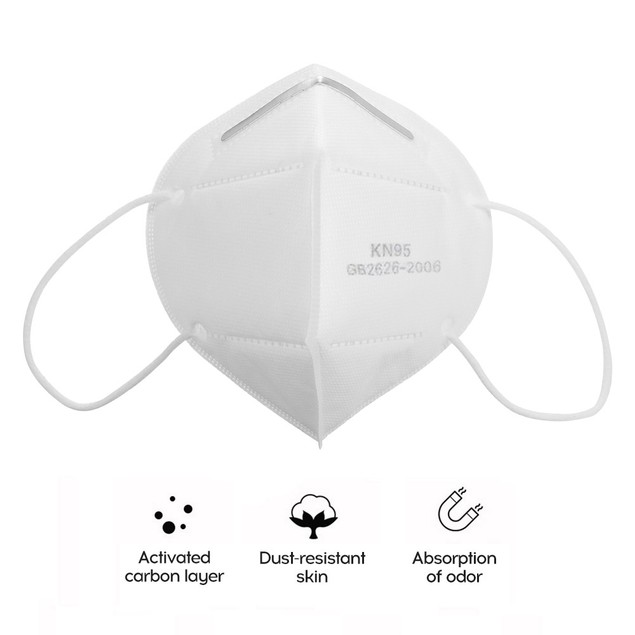FDA Approved Reusable KN95 5-Ply Protection Masks - 95% Filtration