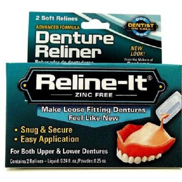 D.O.C. Reline-It, Advanced Denture Reliner 2 repairs