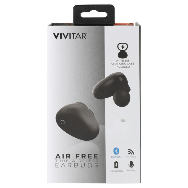 Vivitar True Wireless Bluetooth Earbuds