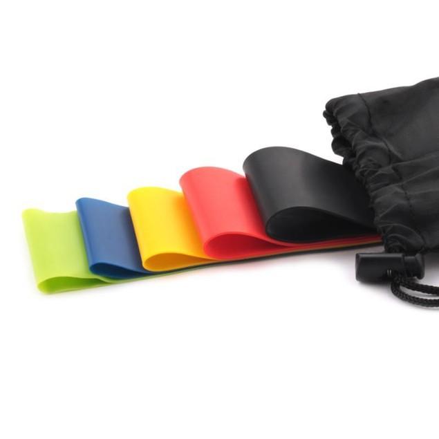 5PCS/Set - Resistance Bands for Exercise -Home Training for Women Men