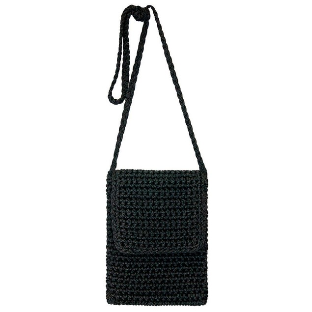 Cafe Crossbody Crochet Bag