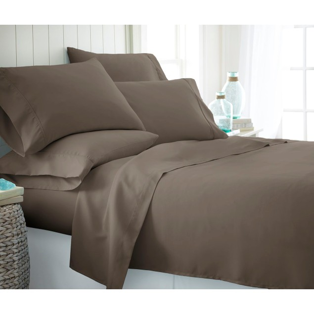 Olive & Twill Extra Soft Wrinkle-Free Microfiber 6 Pc Sheet Set