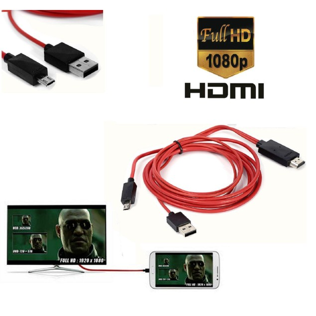 Samsung Micro USB to TV Cable MHL to HDMI Adapter