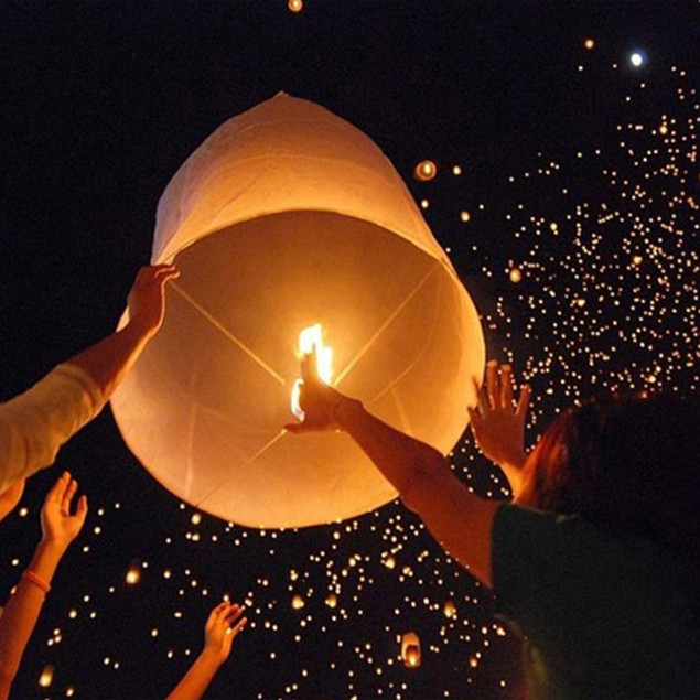 20-Pack: Original Flame Retardant Sky Lanterns