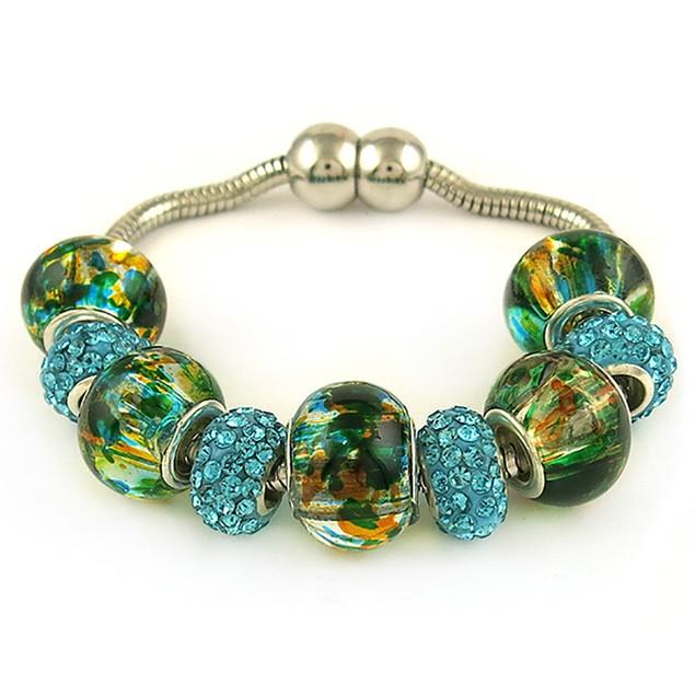 Murano Beads Bracelet