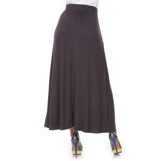 Charcoal Maxi Skirt