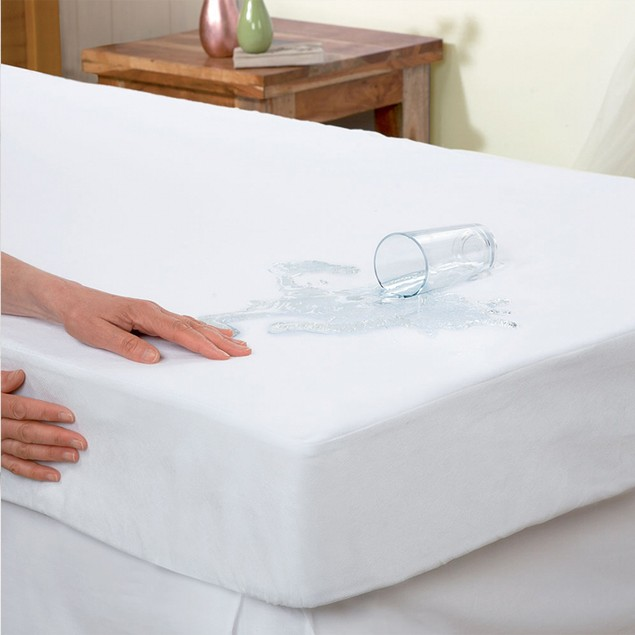 Hypoallergenic 100% Waterproof Zippered Mattress Protector