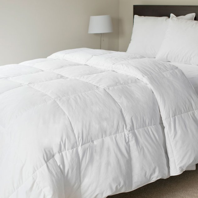 Lavish Home 100% Cotton Feather Down Comforter