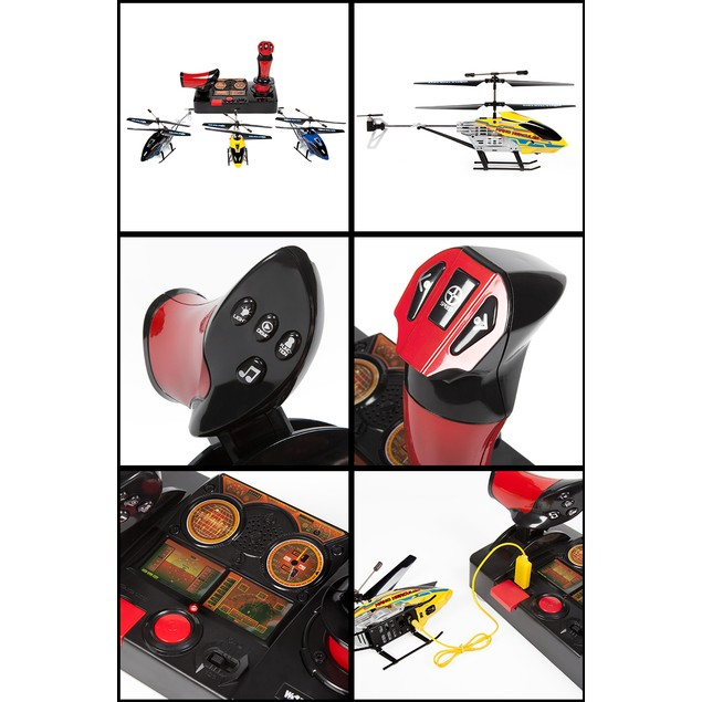 3.5ch Nano Hercules Helipilot 2.4GHz RC Helicopter (Joystick Heli)
