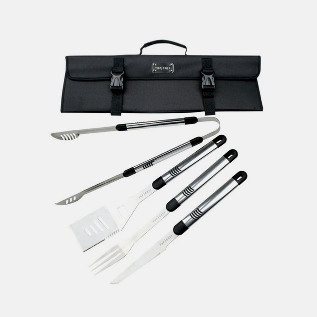 Top Chef Stainless Steel BBQ Set
