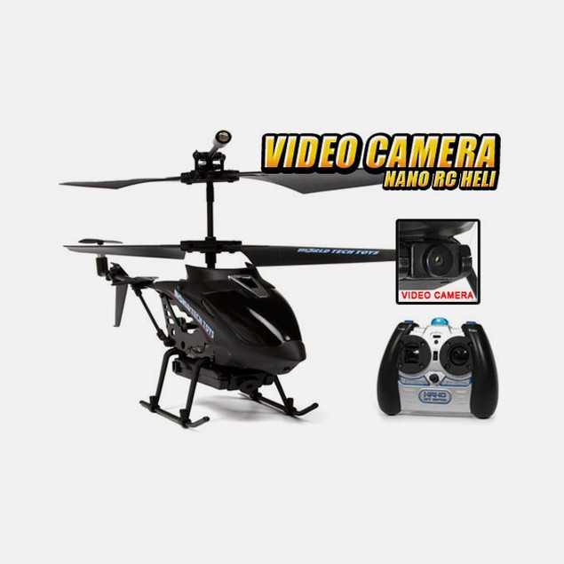 GYRO Spy Video/Picture Camera 3.5CH RC Helicopter