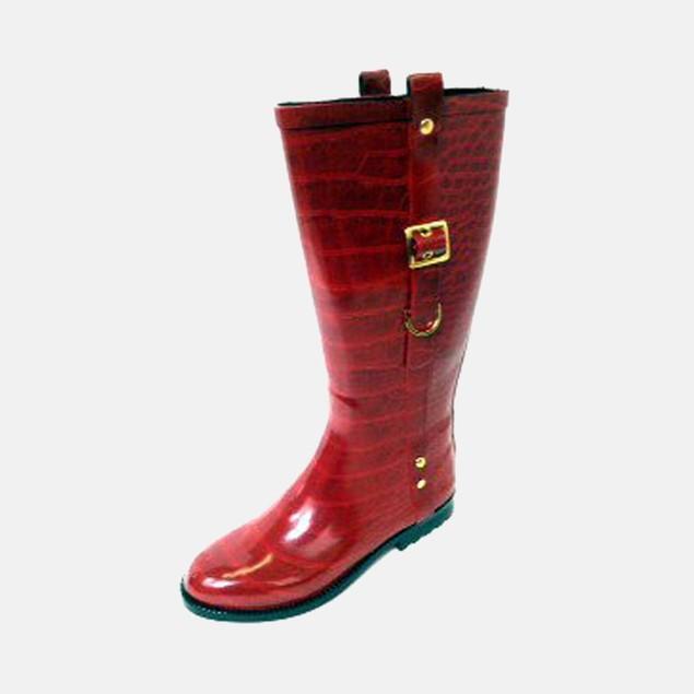 Henry Ferrera Women's Rain Boots - Red Scoop