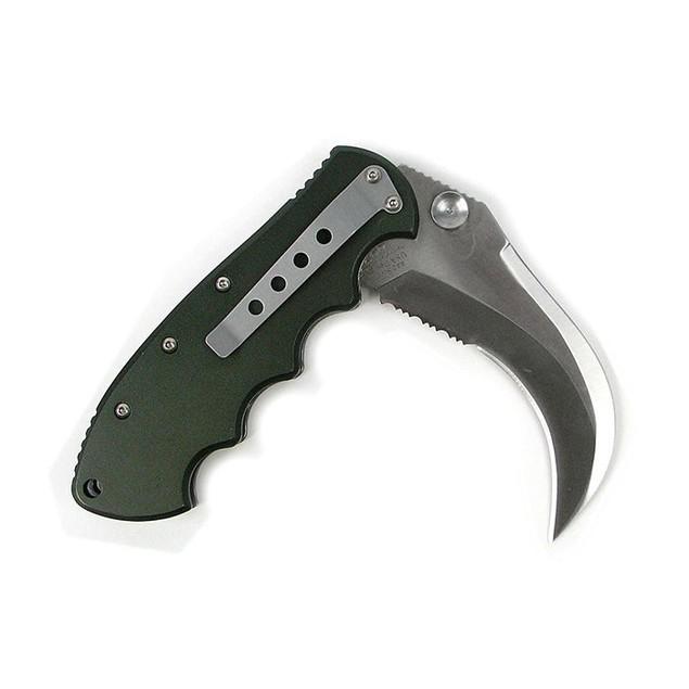 Whetstone Hawk Bill Blade Stainless Steel Folder Knife 8.75