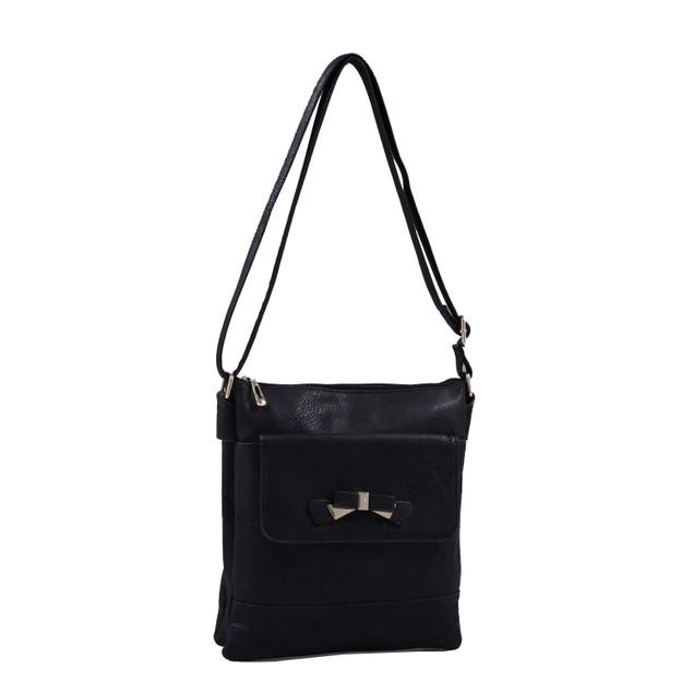 MKF Collection Cindy Multi Pocket Crossbody Bag by Mia K