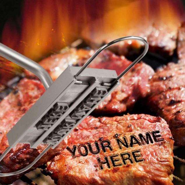 Personalized BBQ Branding Iron