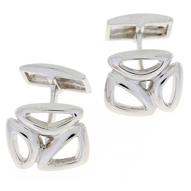 Designed Sterling Silver Cufflinks