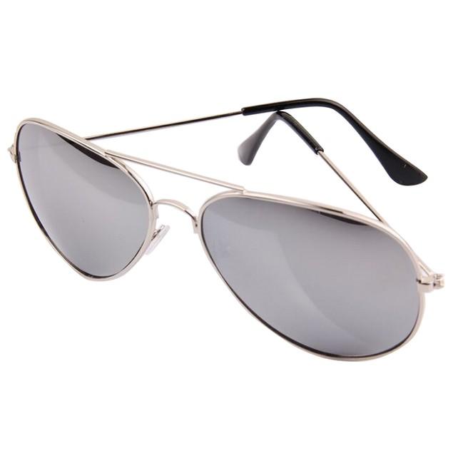 3-Pack Silver Mirror Aviator Sunglasses
