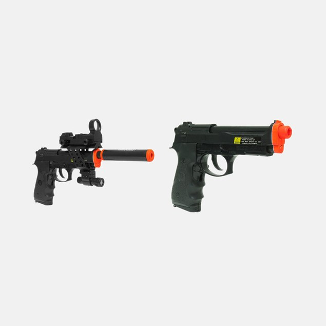 Electric Full Auto Tactical M9 Pistol Airsoft Gun