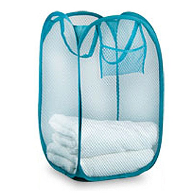Meshed Up Collapsible Hamper