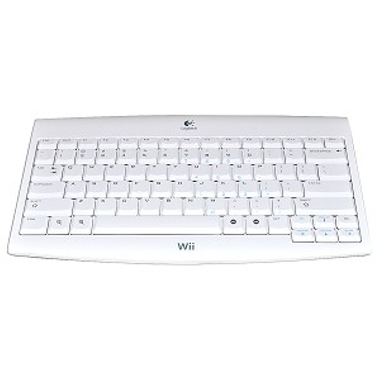 9a92e859a54 Logitech 81-Key Wireless Keyboard for Nintendo Wii - Tanga