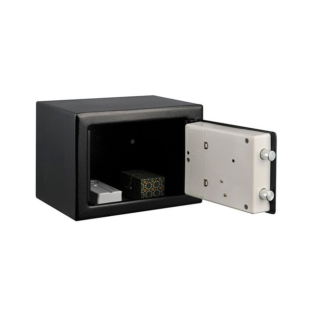 Stalwart Electronic Deluxe Digital Steel Safe - Black