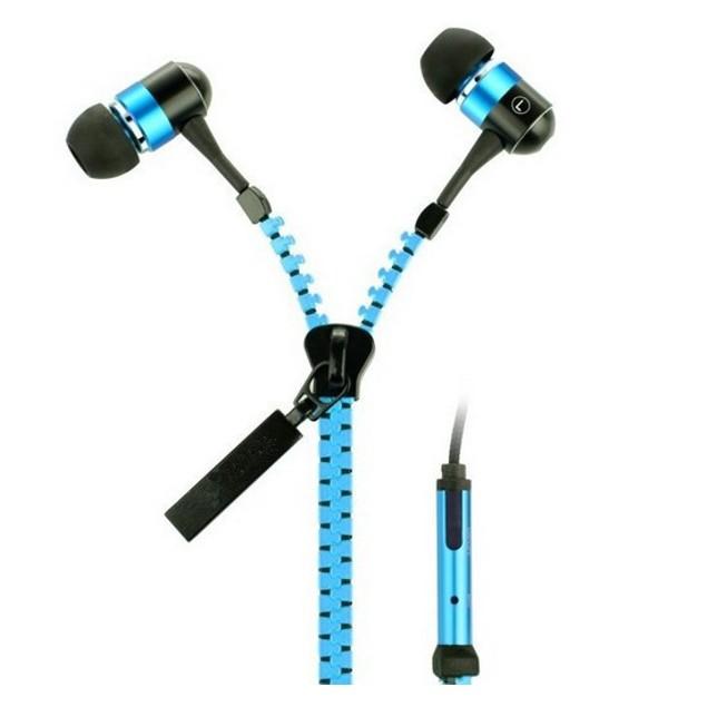 2-Pack Zipper Headphones