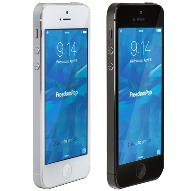 100% Free Mobile Phone Service with iPhone 5