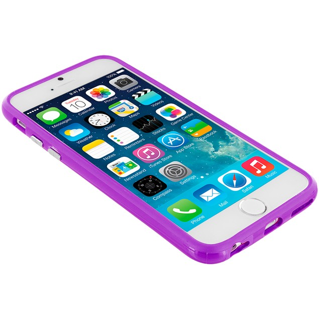 Apple iPhone 6 Plus (5.5) Hybrid TPU Bumper Case Cover