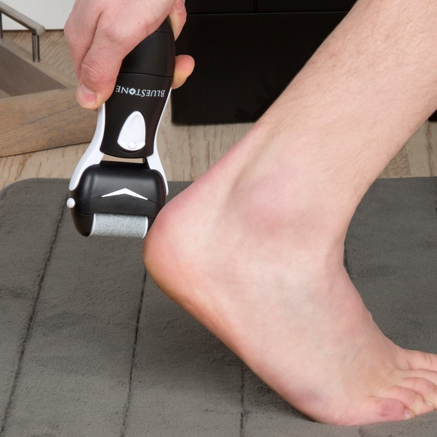 Bluestone Men's Foot Callus Remover with Two Rollers